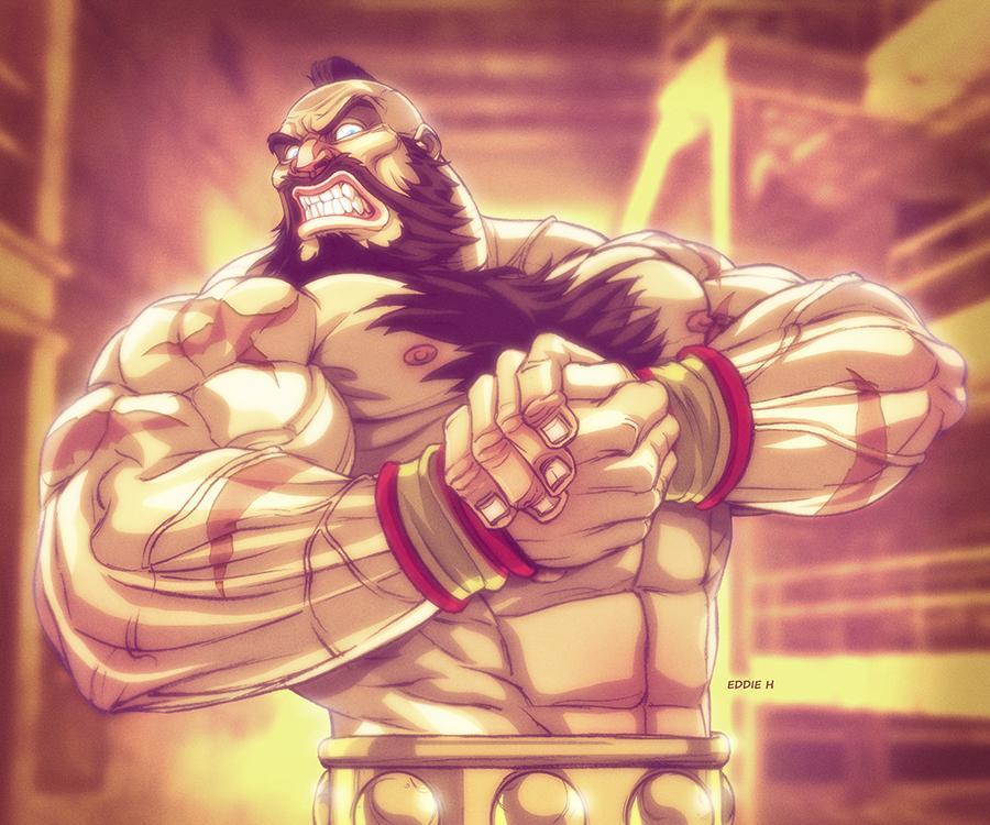 Cross Counter Tv On Twitter Zangief Flex Street Fighter By