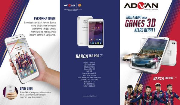 Advan Id On Twitter RT Kutaradio ADVAN Barca TAB Pro 7