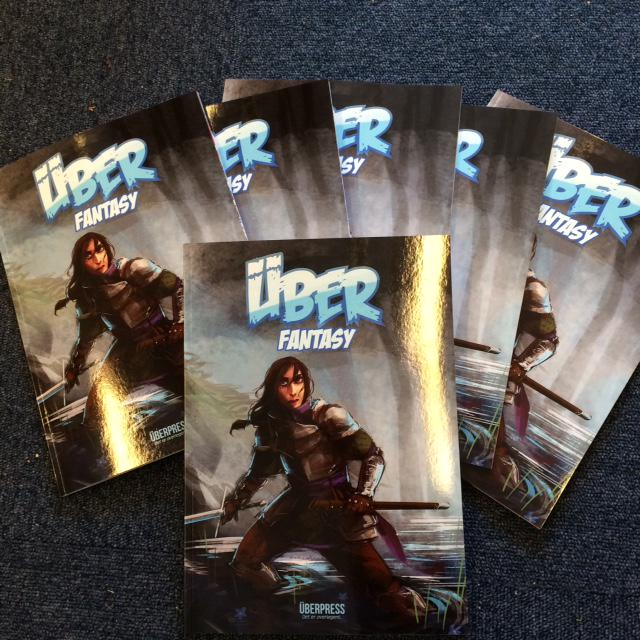 ÜberPRESS lanserer to nye bøker under #OCX2015: Antologien ÜberFantasy...  @UberPressMann http://t.co/7T4KdU6cZx