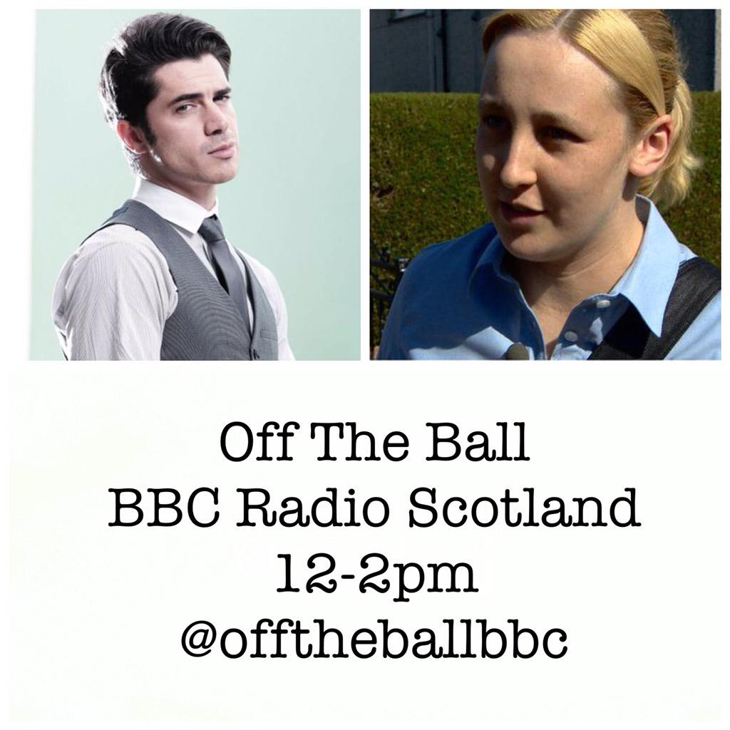 On the programme this week - a young person special - actor Sam Robertson & MP Mhairi Black. Miss it at your peril! http://t.co/3UwHvLoRcz