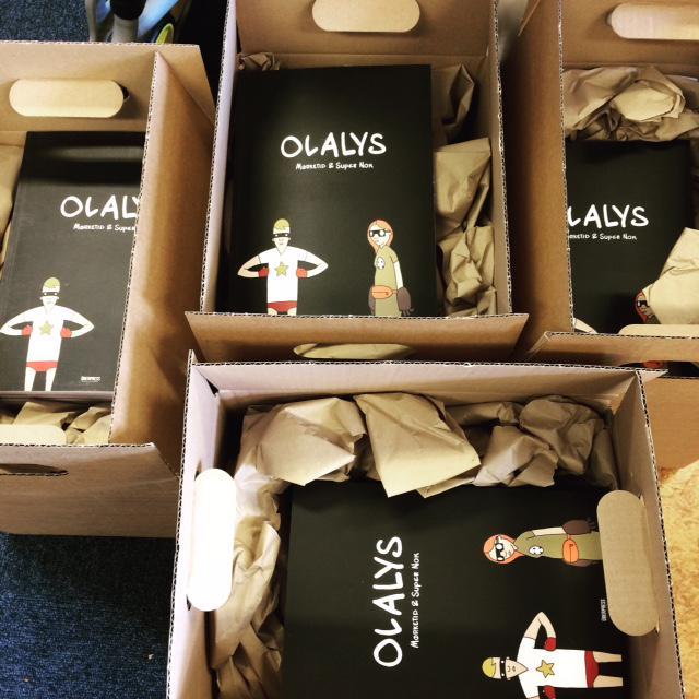 ... og Olalys av @olalys. Stikk innom ÜberPRESS-standen #OCX2015 og få dem signert. @UberPressMann http://t.co/ZYRp54yRNd