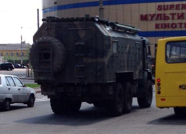 Российское командование перебросило в один из микрорайонов Донецка 20 танков и спецназ, - ИС - Цензор.НЕТ 3957