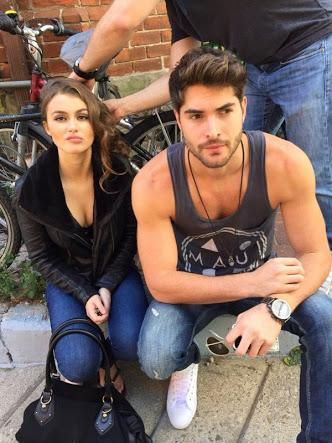 Celeste Desjardins And Nick Bateman