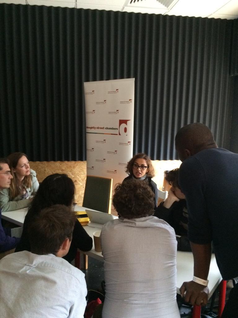 Enrapt audience for top QC, @calamity26, at the #altmagnacarta http://t.co/UimBkjGdz6