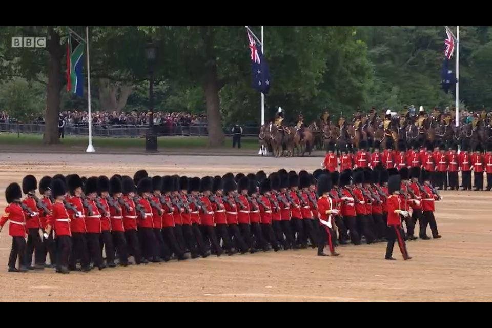 Trooping the Colour 2015. CHZ1tSuXAAAufVr