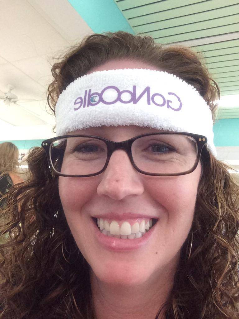 Got a @GoNoodle head band now on a mission to get a tumbler #edcampvolusia http://t.co/NBkdknOj7Z