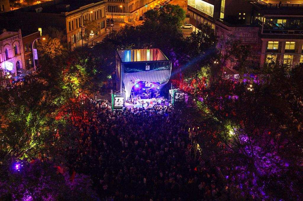 You're beautiful, Winnipeg! Let's do it again tonight! Music starts at 4 #jazzwpg15 http://t.co/CQvBMApZpn