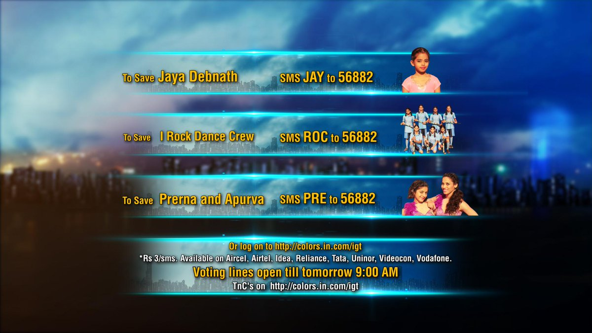 colors tv igt voting