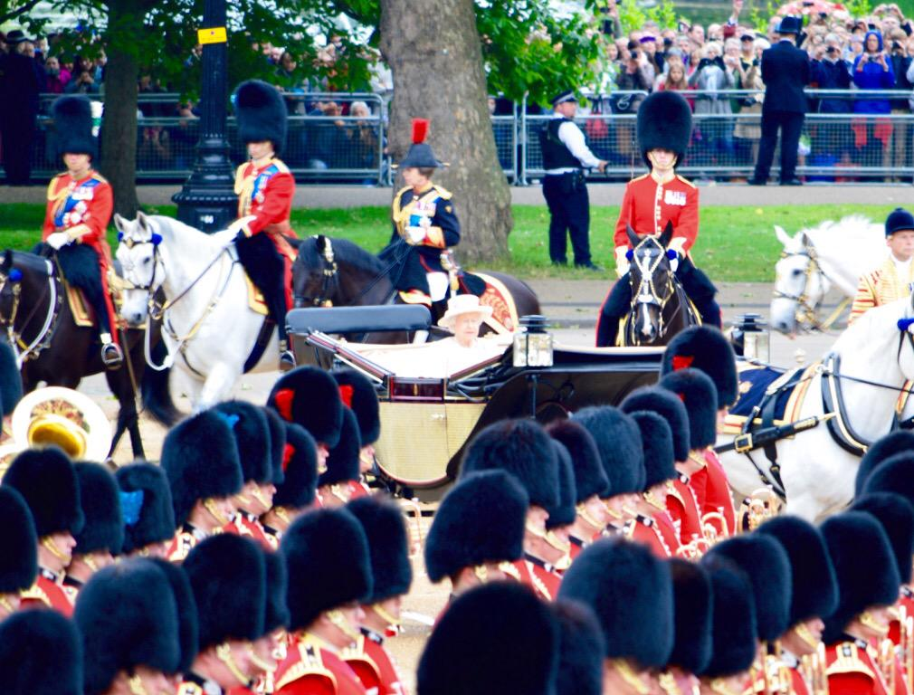 Trooping the Colour 2015. CHZe0_NWoAA2Dk2