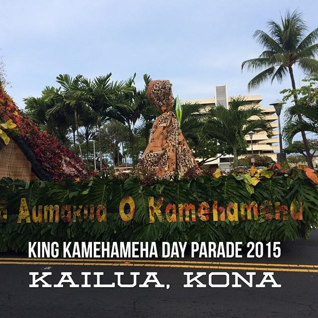 King Kamehameha Day #Aloha #Parade #Kailua #Kona #BigIsland #Hawaii #PositiveEnergy http://t.co/yt96pcsrsh