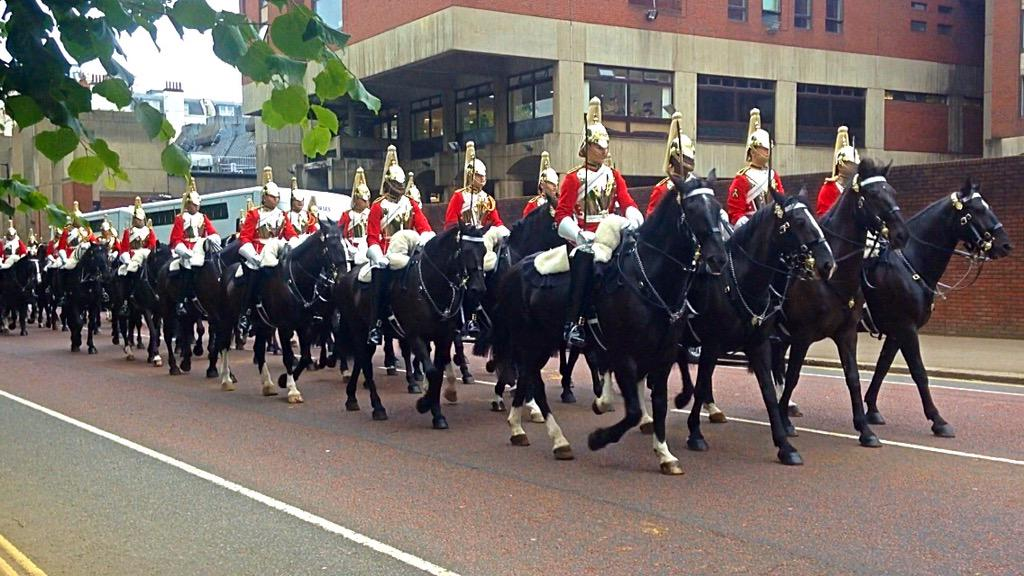 Trooping the Colour 2015. CHZqwx9WoAAWhMt