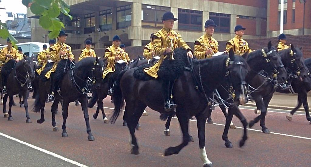 Trooping the Colour 2015. CHZqwymWEAAJF-F