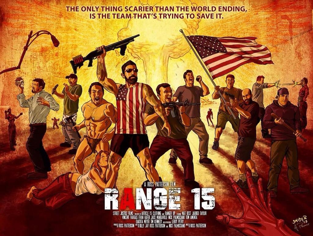 Ranger Up, Article 15, American Badasses team up for Ultimate Movie! http://t.co/wxHqr2SnqK http://t.co/PHA81hBac6