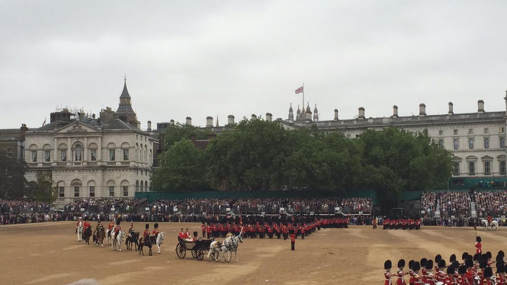 Trooping the Colour 2015. CHaLi0kW8AAKCzb