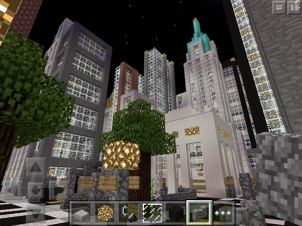 Nyc Minecraft Pe On Twitter Grand Central Terminal Chrysler