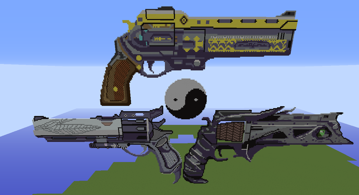 Year 1 Exotic Hand Cannons in Minecraft