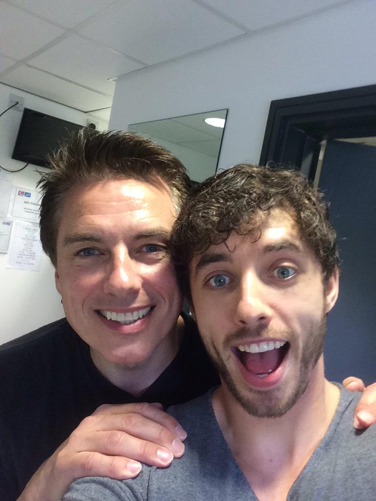 So nice catching up with @Team_Barrowman and What an amazing show! I laughed from start to finish! http://t.co/IunD8w0zPa