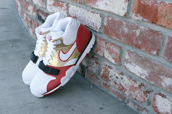 on sale 29b5a a5073 the 80 inspired nike air trainer 1 mid prm qs