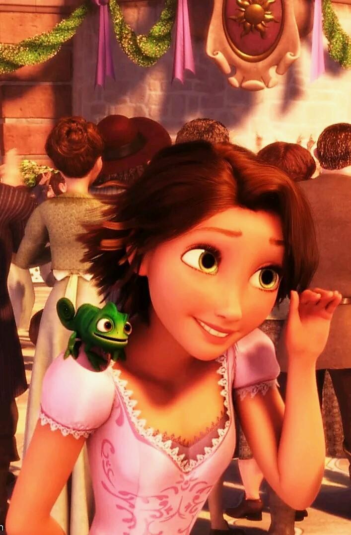 Baby Pascal Rapunzel