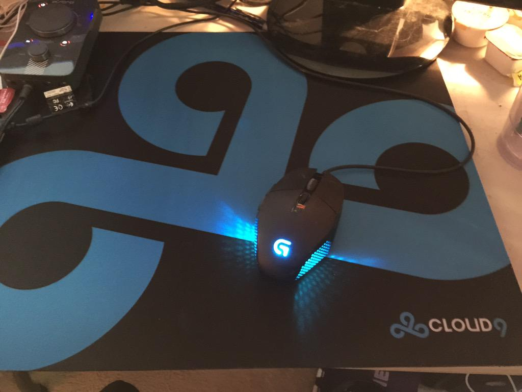 A beautiful sight @Cloud9gg @LogitechG http://t.co/XQmE4JwMIi