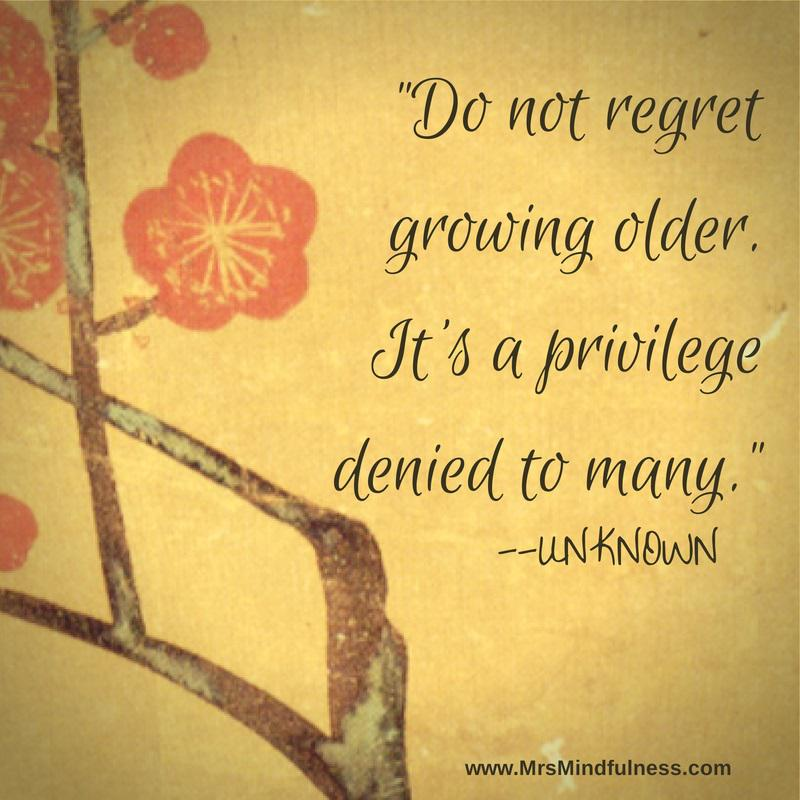 Mellissa Obrien On Twitter Do Not Regret Getting Older Its A