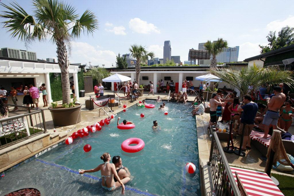 Photos The Pool Party Scene At Uptown Cabana Bar Bungalow Beach Club Http