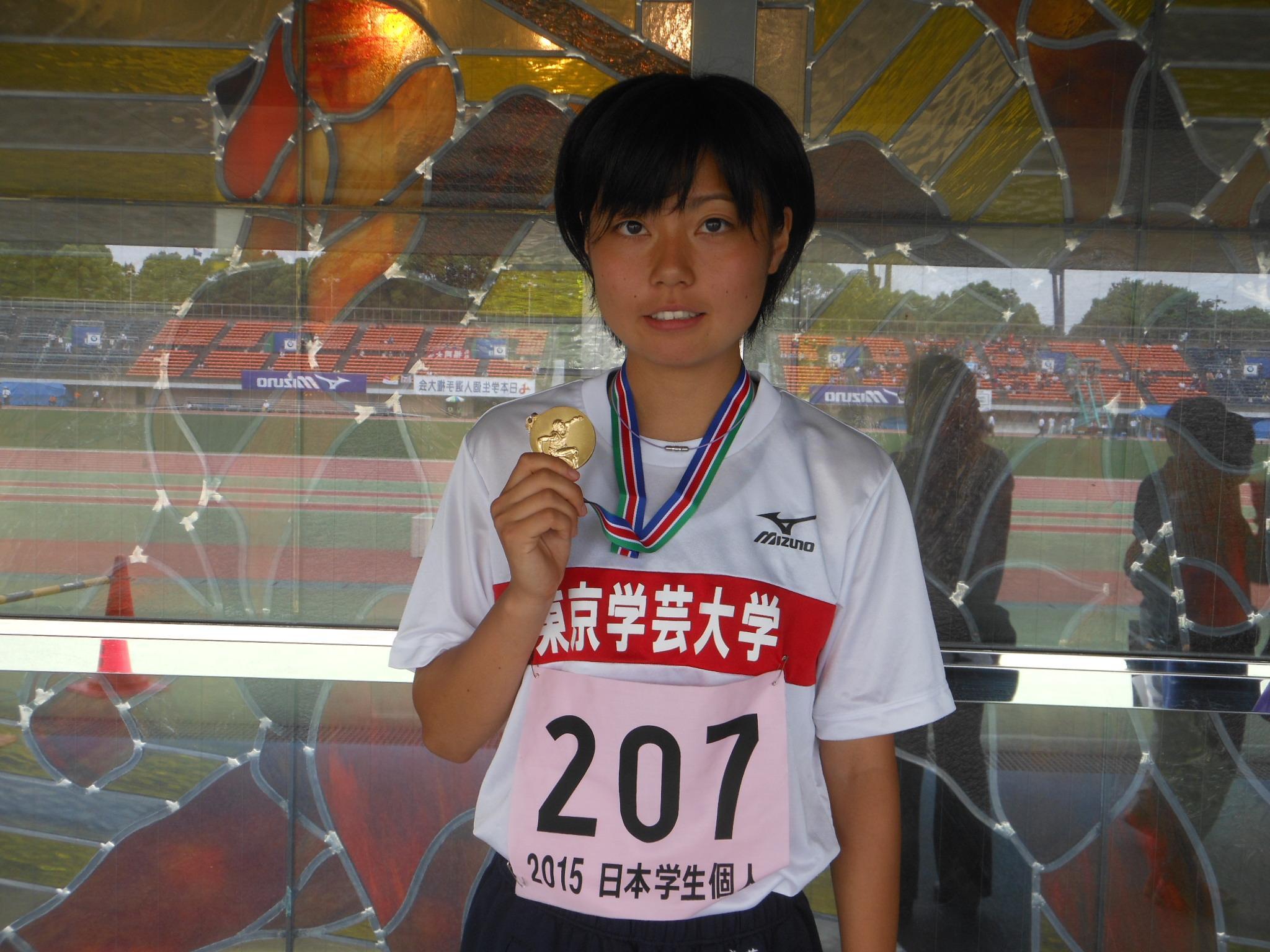 """日本学生陸上競技連合 on Twitter: """"【学生個人】 女子 800m決勝 優勝 卜部 蘭(東京学芸大) 記録 2:08.99 (コメント) 予選から集中して自分の走りをすることができた。仲間からの応援を力にかえることができた。日本選手権では自己"""