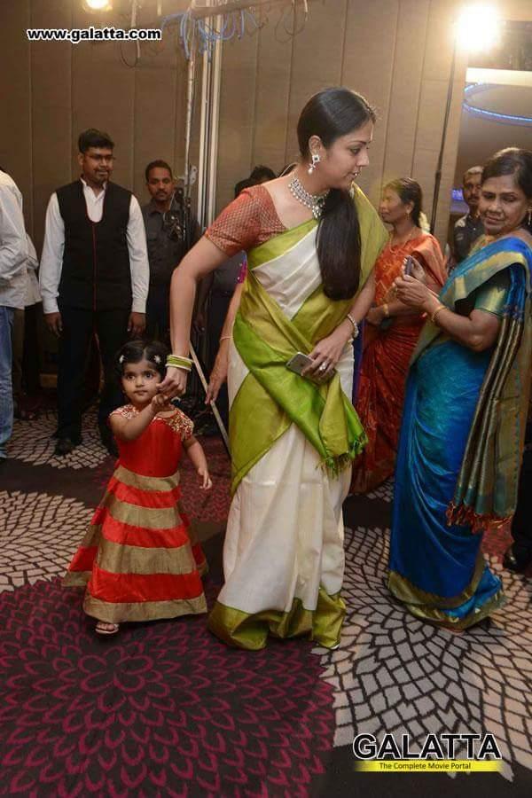 """Surya Jyothika Diary on Twitter: """"#Jyothika with #Karthi's ...  Actor Karthi Daughter Umayaal Photos"""