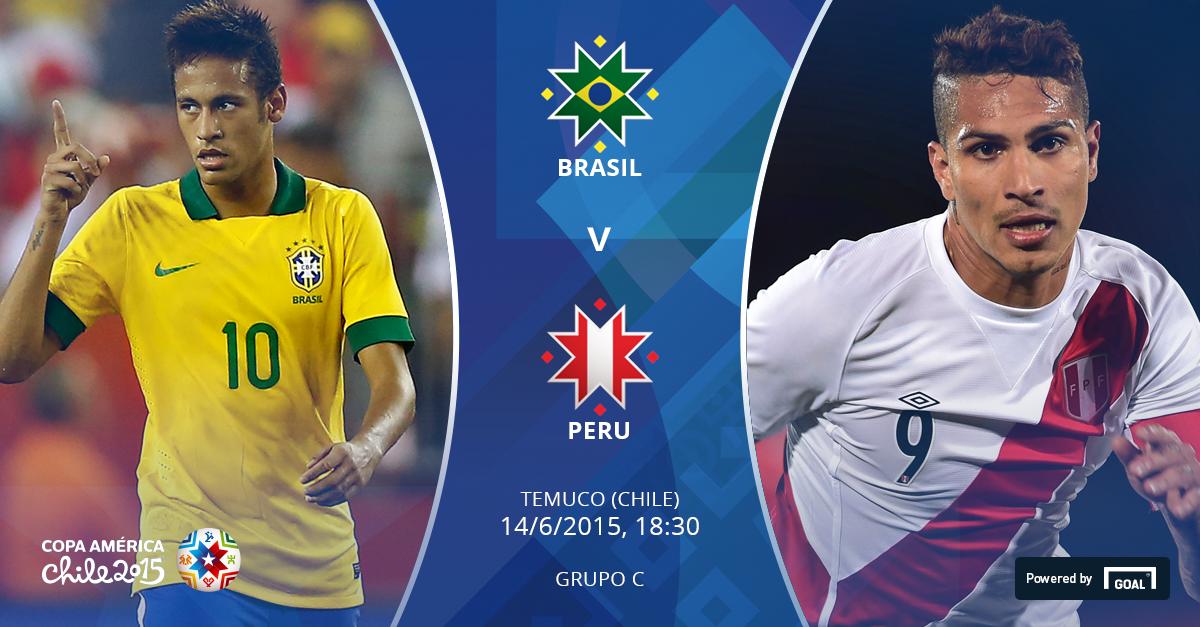 Постер к новости Бразилия - Перу - превью.
