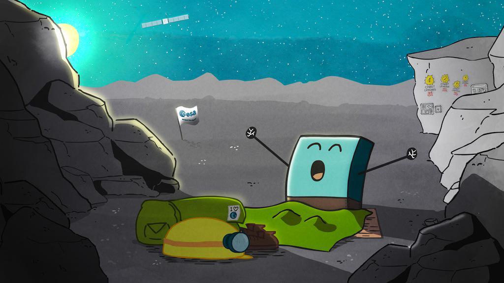 Philae si risveglia CHdTHfSWoAABBkB
