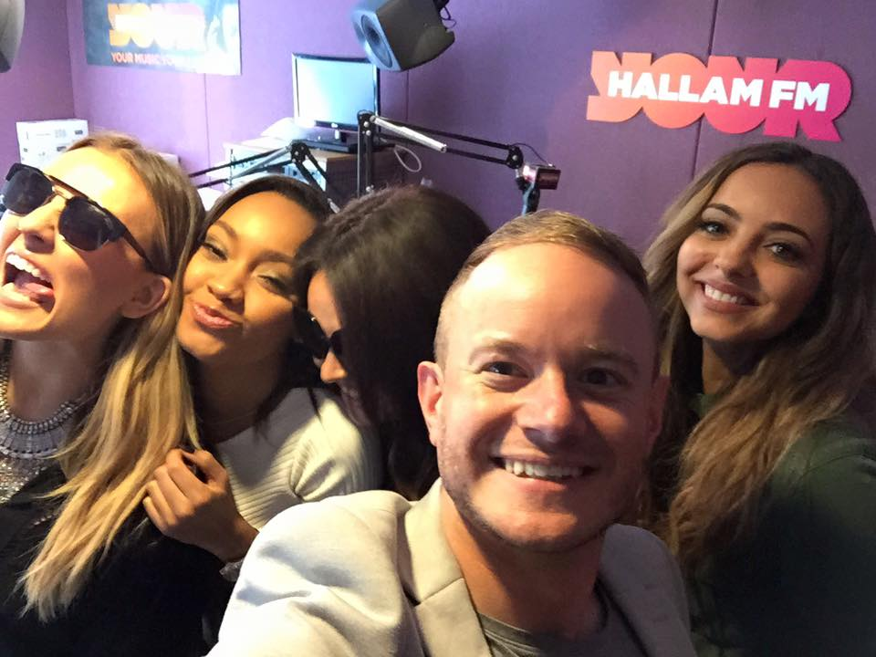 Hear my chat with @LittleMix on @hallamfm next! The girls are trying to set me up with Jade.... poor girl! #LittleMix http://t.co/CD6Uoda6hY