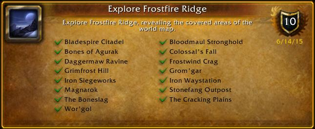 Paul Scheminant On Twitter I Just Earned The Explore Frostfire