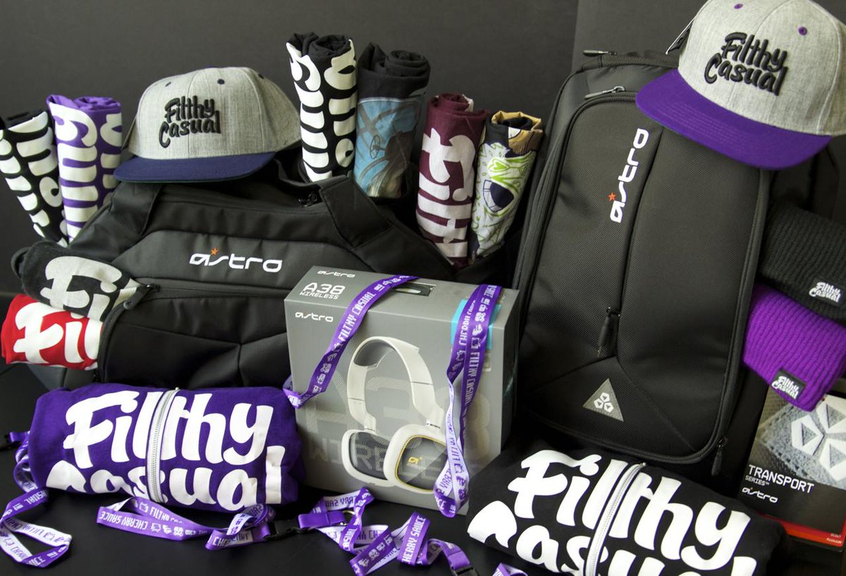 Celebrate our #E3 Apparel Sale w/ a @filthycasualco Convention Ready Giveaway!  RT & Enter: http://t.co/wXQWor6GKY