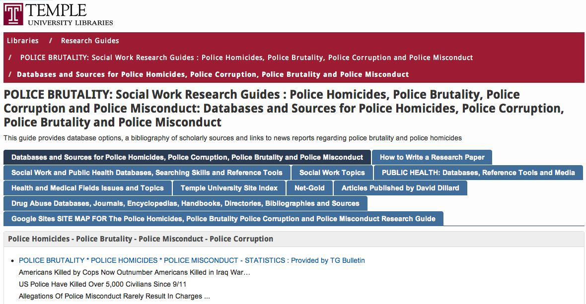 research paper topics on police corruption