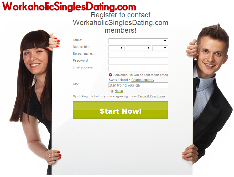 Online dating workaholic