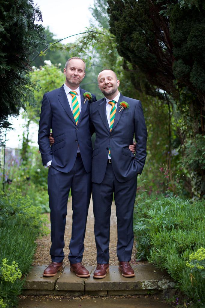 Want to say a huge THANK YOU to @thewilliamcecil for making mine & @daveypodmore's wedding day the most amazing time! http://t.co/sgycvUPBqU