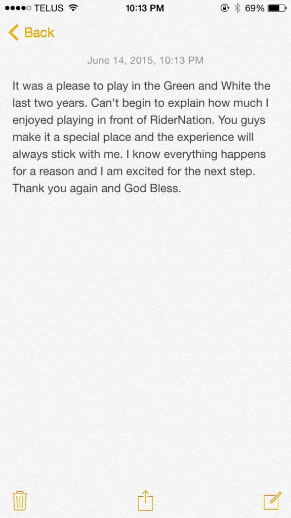 Thank you Rider Nation! http://t.co/WOdBT40qqb