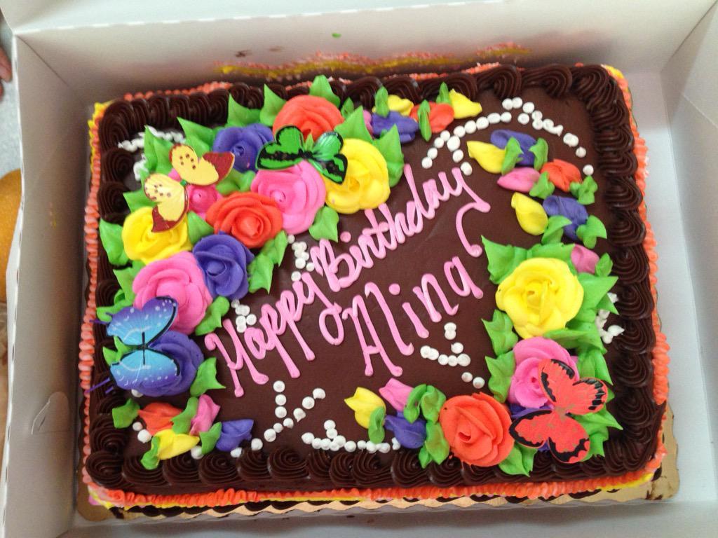 Alina Ramirez Vance on Twitter My birthday cake my Abuela got me