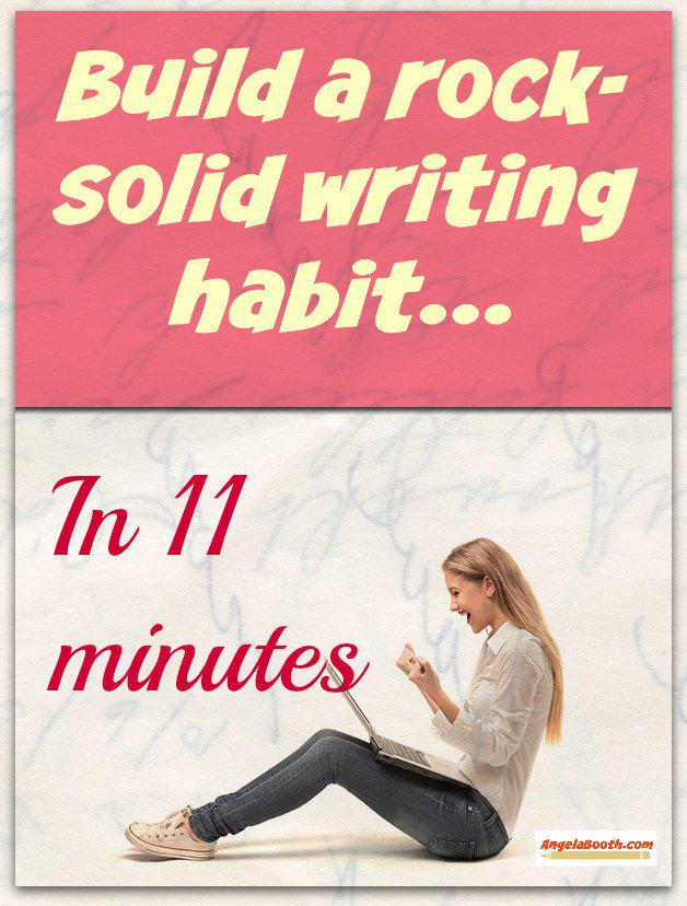 11 Minutes To A Rock-Solid Writing Habit http://t.co/y4lYRLohI6 http://t.co/HtLjPhwEkf