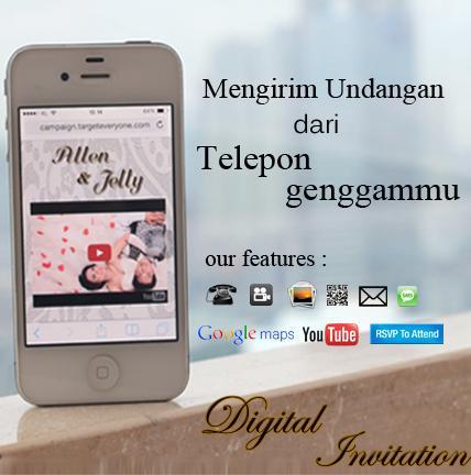 Digital Invitation - Mengirim Undangan dari telepon genggammu. http://t.co/fNhEsfozHF