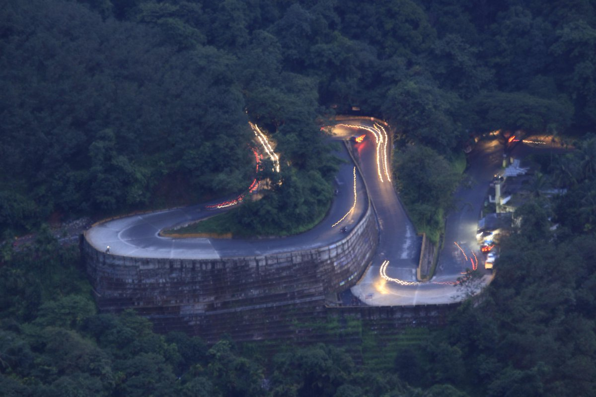 The Thamarassery Churam/ Wayanad Ghats enroute to #Wayanad has nine hairpin bends #visitkerala #lp #IncredibleIndia http://t.co/KzmhU3dHps