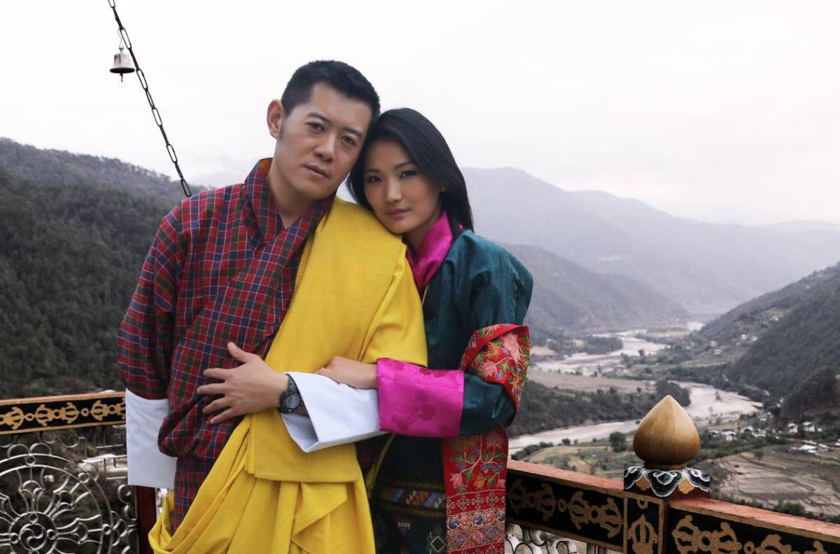 Butão : história amor casal real Butão país felicidade | EL PAÍS ...