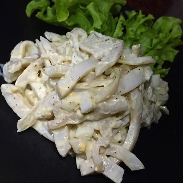 Салат из кальмара рецепты