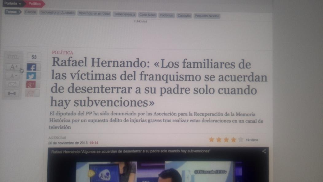 Supongo que todos los que pedían la dimisión de Zapata ahora pedirán igual la de Hernando y Casado, no? http://t.co/s9OuyxK9x0
