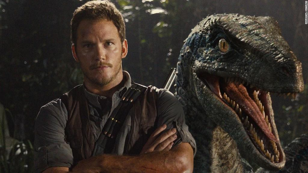 FOTO Chris Pratt in Jurassic World
