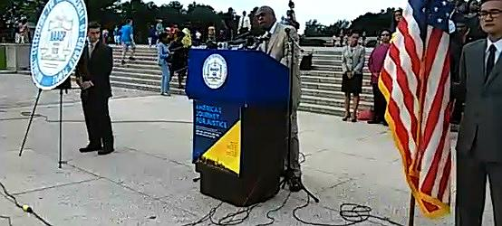 Watch @NAACP + a huge coalition announce America's Journey for Justice live: http://t.co/wqRtOO91D1 #JusticeSummer http://t.co/mPdB8nenuj