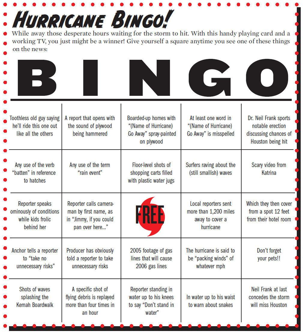 @JRCohen Time for another round of Hurricane Bingo! http://t.co/vqgZnyt54B