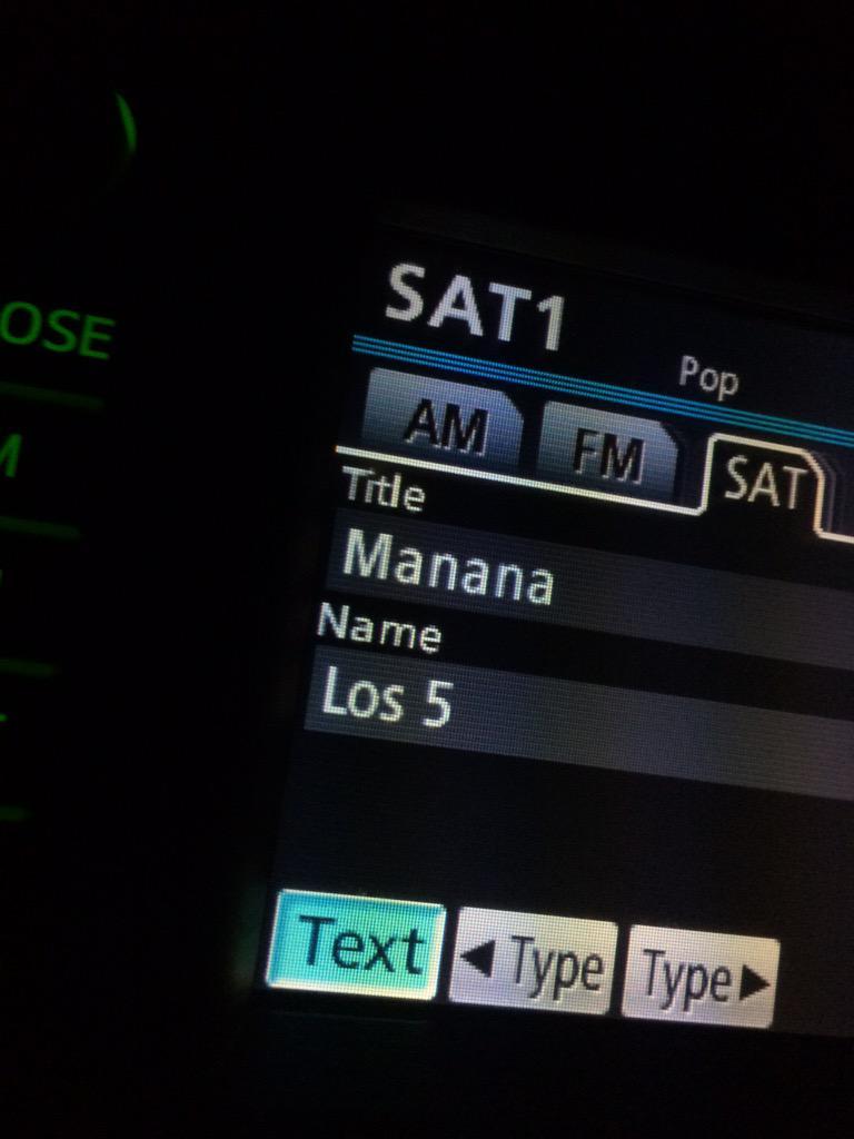 Love hearing this on the radio!!! @Los5Music http://t.co/2kVYRpLhXb