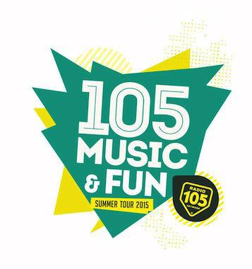 105 Music & Fun 2015 con Luca Carboni e Raf