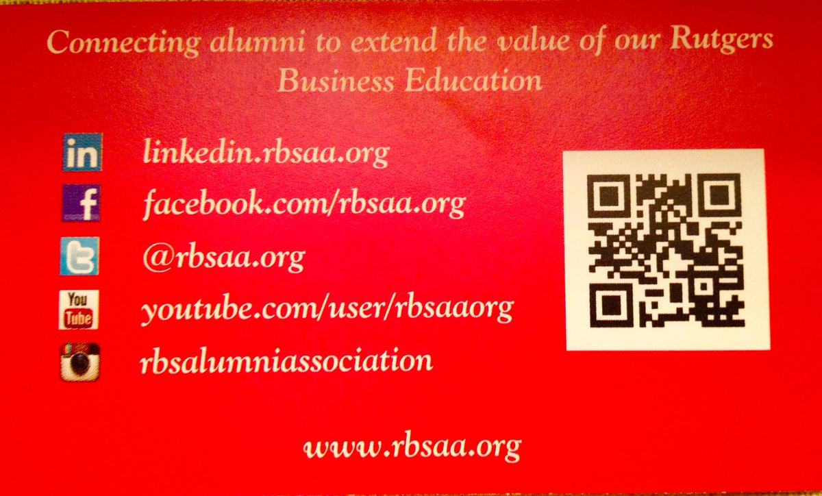 Rbsaa on twitter rutgers business school alumni association has rbsaa on twitter rutgers business school alumni association has business cards keep in touch with us in a variety of ways httptgiopnkh6nw colourmoves